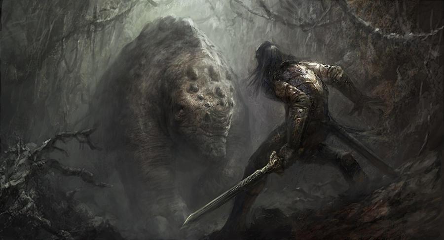 Monster Approach by vshen