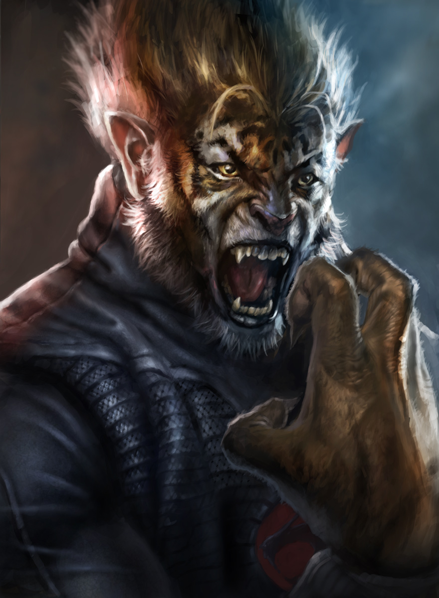Tygra Portrait by vshen