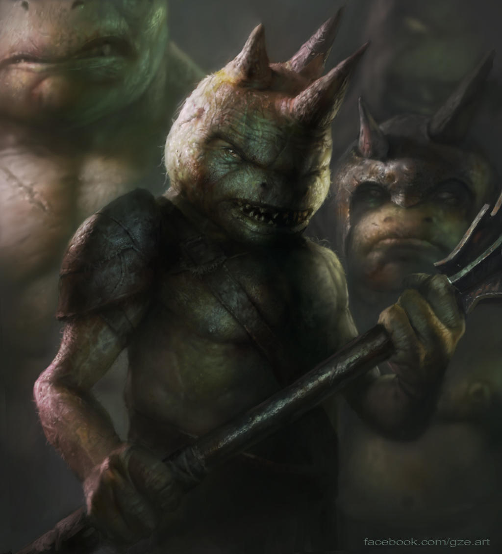 Goblin Leader by vshen