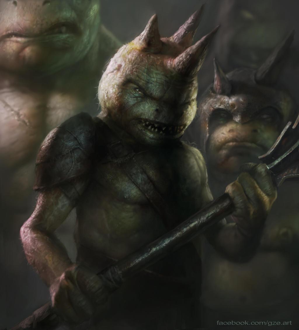 Goblin Leader by vshen