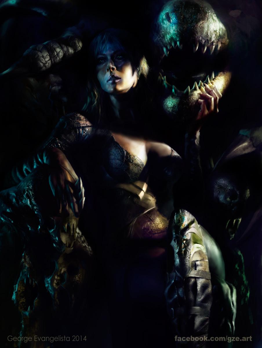 Dragon Queen by vshen