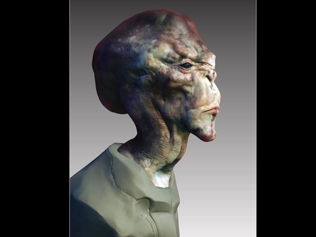Alien Skin test by vshen