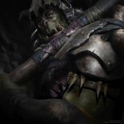 Orc - LOTR Warcraft Hybrid by vshen