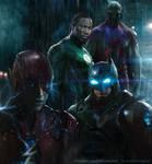 Flash Batman GL MM