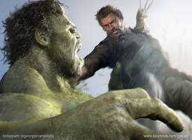 Logan Vs Hulk