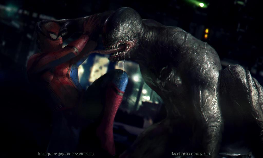 Venom Vs Spiderman by vshen on DeviantArt