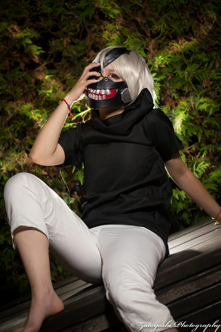 Kaneki from Tokoyo Ghoul by N1k0nSh00ter