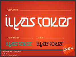 Logotype_IlyasToker by monographic