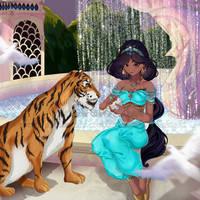 Jasmine's Garden Disney' Princesse Series +video