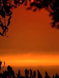 Sunset sky frame