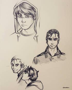 original characters concept