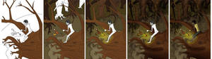 Pinocchio: Up Tree Process