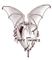 Mourir Toujours - Tattoo by pun