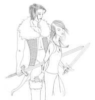 Reinhart and Azazi by pun