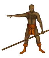 Barbarian by pun