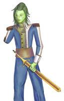 Kiva in Uniform by pun