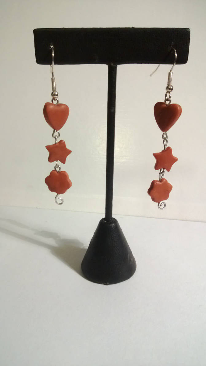 Pipareita - Polymer Clay Earrings by pun