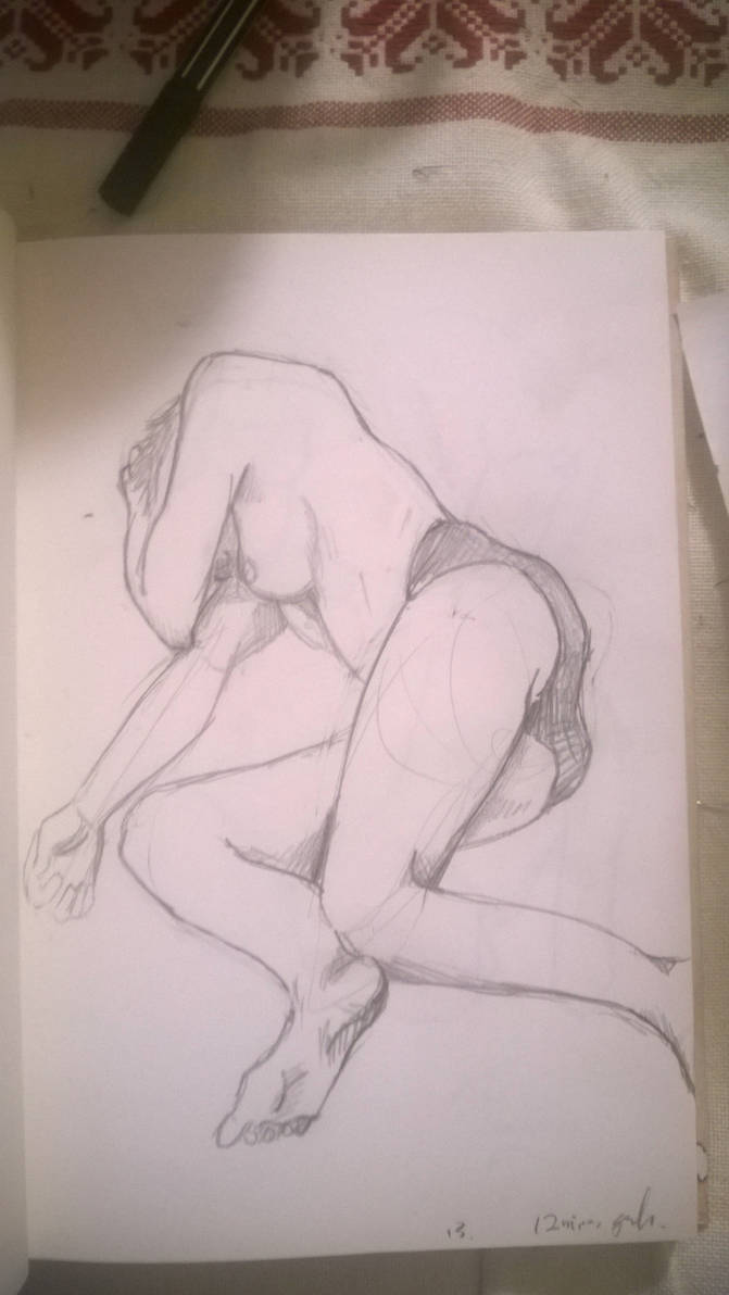 12 minute Croquis by pun
