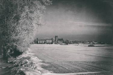 Polish cold winter
