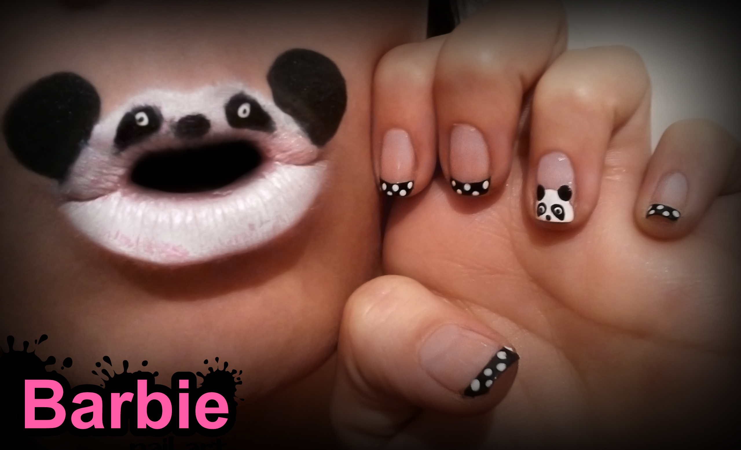 Panda nails by barbienailart on deviantart panda nails by barbienailart panda nails by barbienailart prinsesfo Image collections