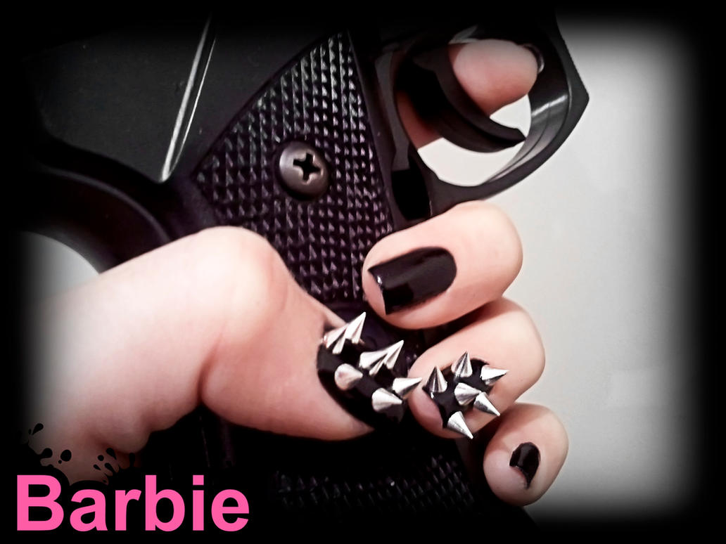 Spikes Studs Nails by BarbieNailArt on DeviantArt