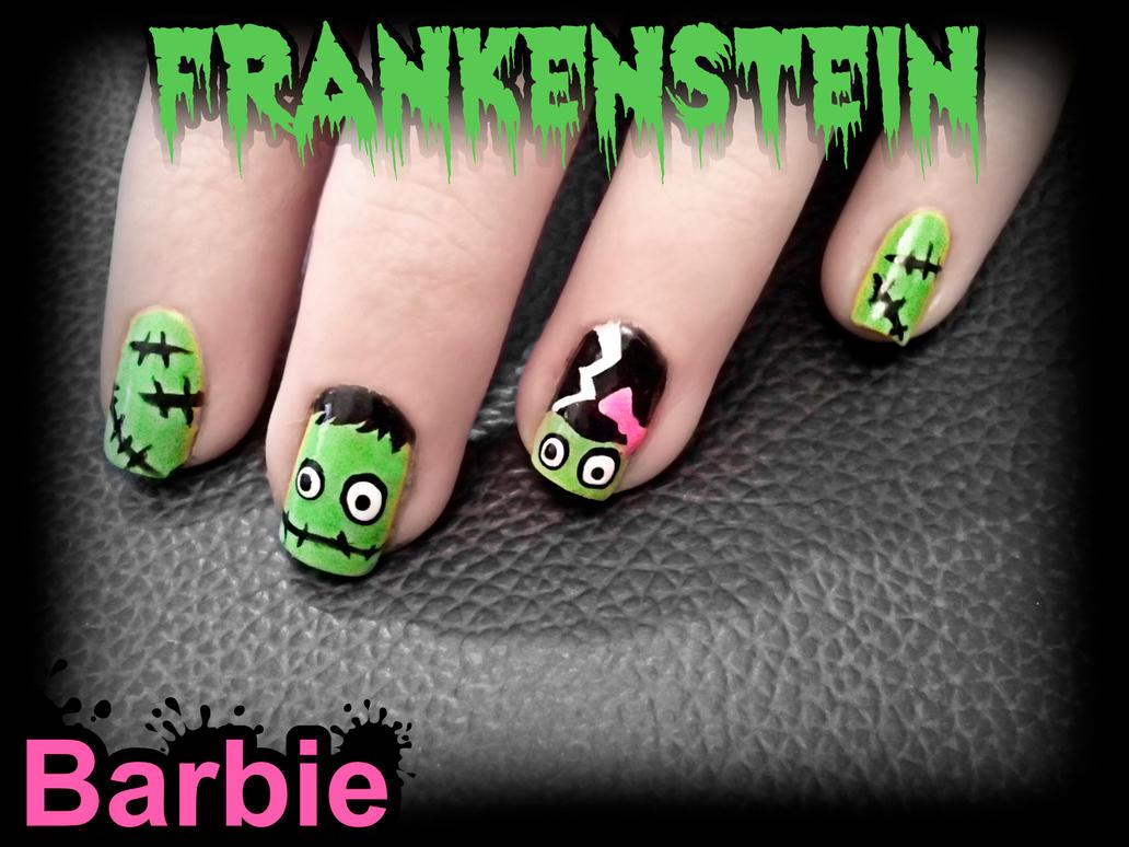Frankenstein Nails by BarbieNailArt ... - Frankenstein Nails By BarbieNailArt On DeviantArt