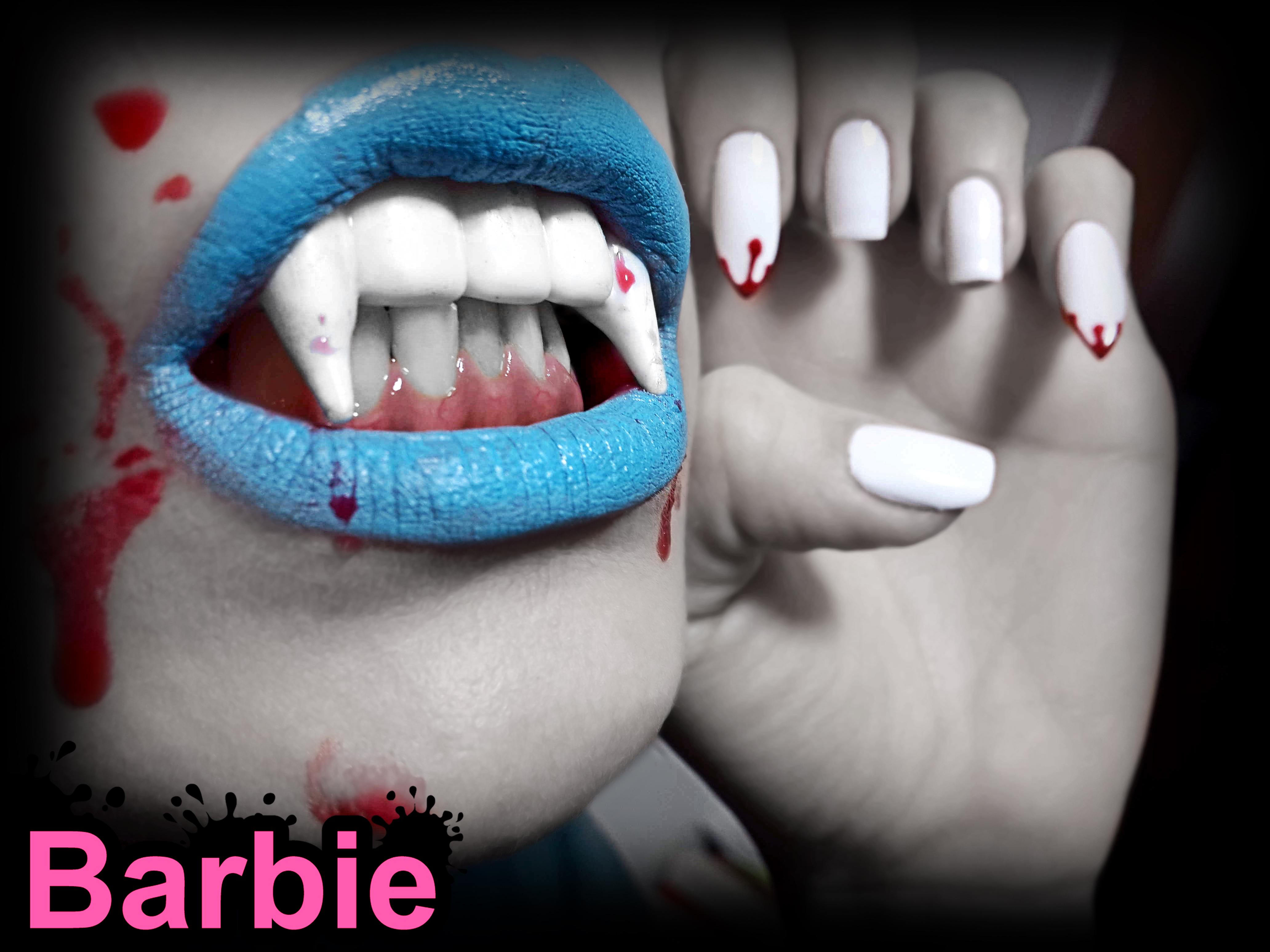 Vempaire Nails by BarbieNailArt on DeviantArt