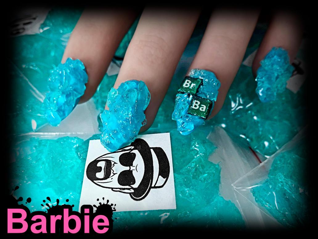 Breaking Bad Nails by BarbieNailArt
