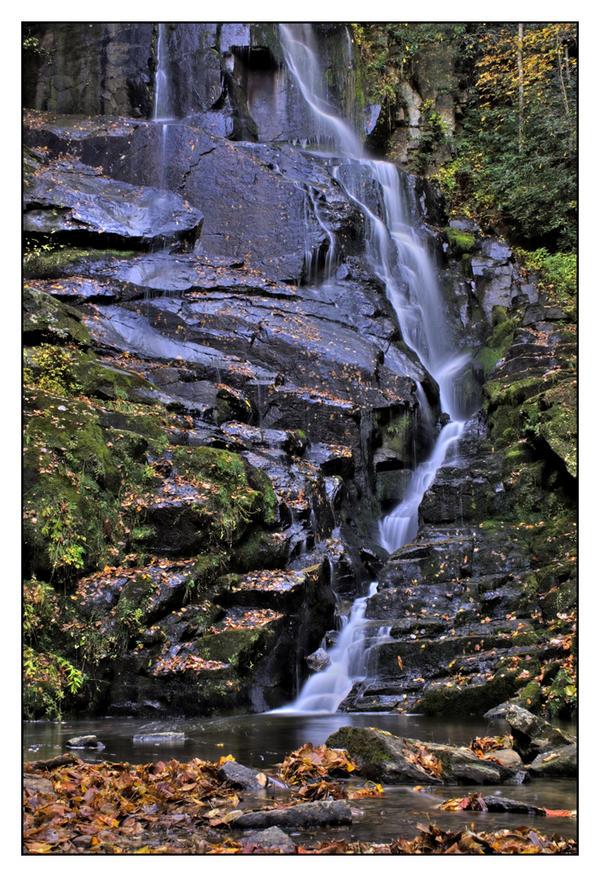 HDR Waterfall by LightofNuitari