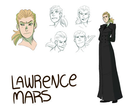Lawrence character sheet
