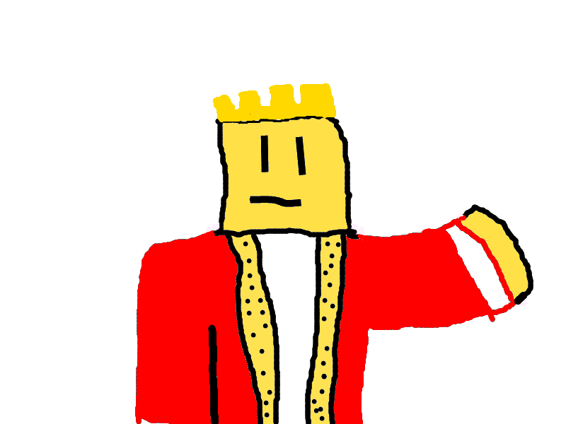 A King Roblox By Mikkimcblox On Deviantart - red king roblox