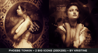 Big Icons Phoebe Tonkin by FlaviaKristine