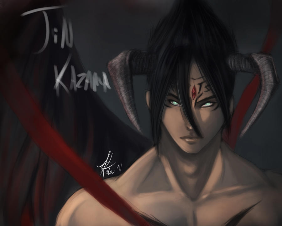 Devil Jin by kawaii-chibi-kotou