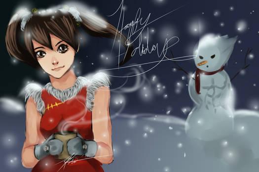Xiaoyu  Christmas