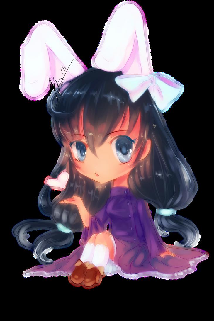Little Rabbit by kawaii-chibi-kotou
