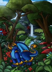 A Dragon's Paradise by PrettyKitty13