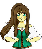 [PC - Half-Body] Lyra for Ask-the-witchy by ReaBel