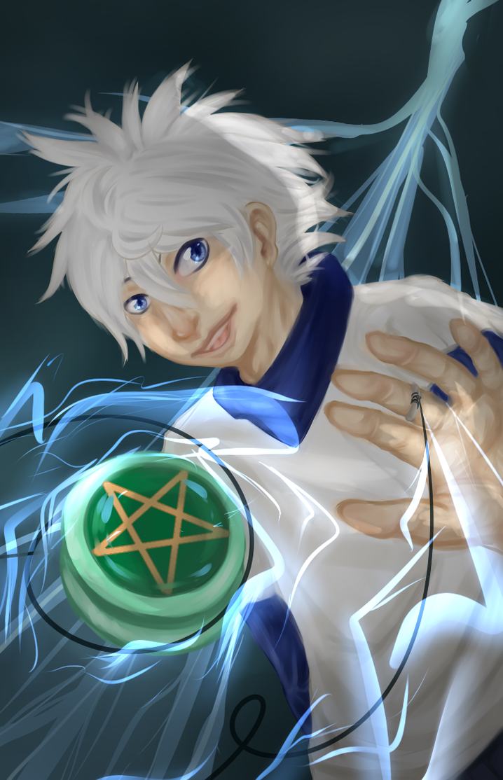 Killua Zoldyck by Kurona-tan