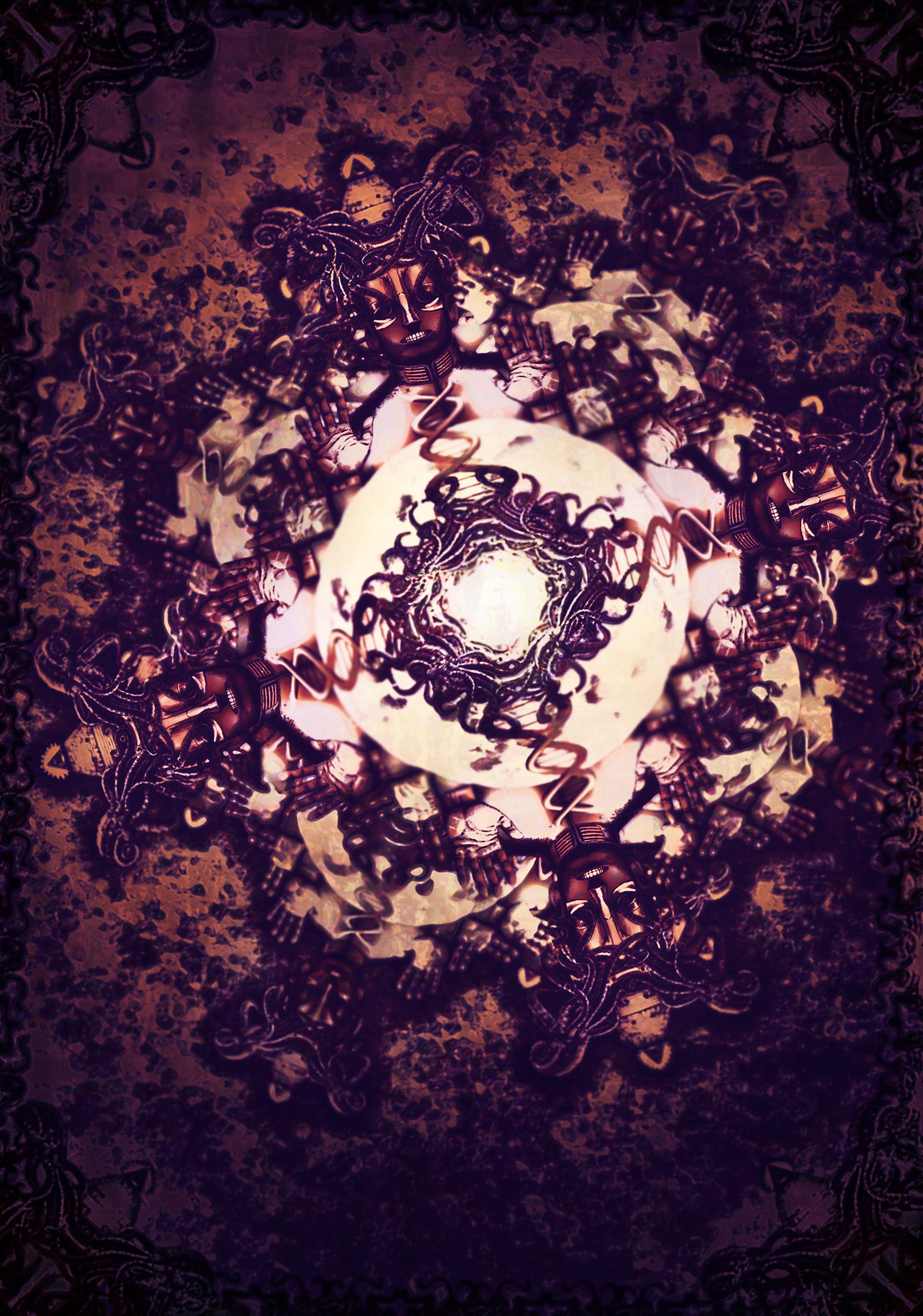 Weird Wallpaper II 1920x2736 by ALFDCLXVI on DeviantArt