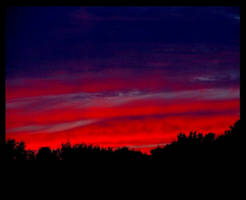 Twilight Sky by coldshadows