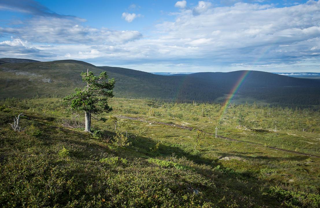 End of the Rainbow by PekkaHartikainen