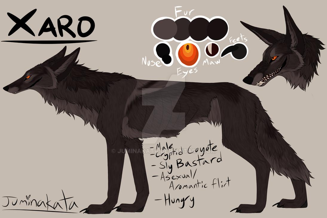 Xaro Cryptid Coyote Ref by Juminakata