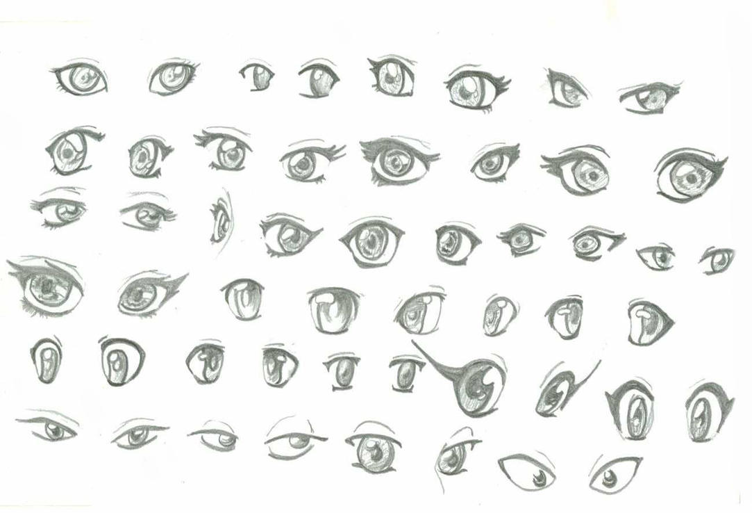 how to draw perfect anime eyes