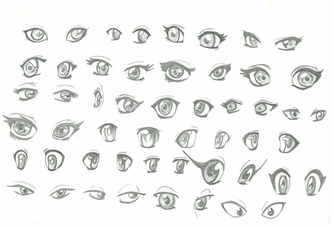 Girl Anime Eyes by Yuyito on DeviantArt