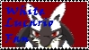 White Lucario Fan Stamp by WolfTwilight