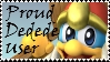 Brawl: Proud Dedede User Stamp by WolfTwilight
