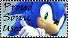 Brawl: Proud Sonic User Stamp by WolfTwilight