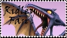 Brawl: Ridley Fan Stamp by WolfTwilight