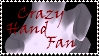 Brawl: Crazy Hand Fan Stamp by WolfTwilight