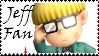 Brawl: Jeff Fan Stamp by WolfTwilight